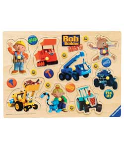 bob the Builder Wooden Playtray Puzzle