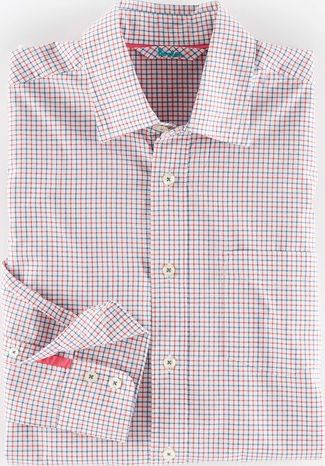 Boden, 1669[^]34989533 Architect Shirt Red Tattersall Boden, Red