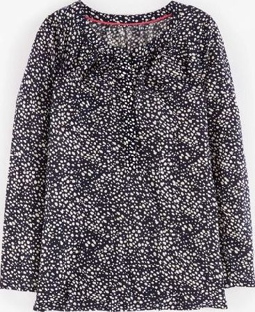 Boden, 1669[^]35139310 Audrey Top Navy Speckled Spot Boden, Navy