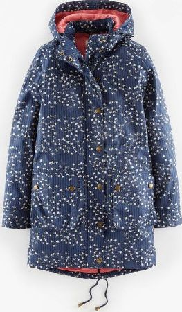 Boden, 1669[^]35048297 Autumn Parka Navy Footprints Boden, Navy