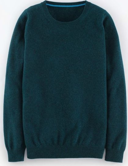 Boden, 1669[^]35068378 Cashmere Crew Neck Jumper Seaweed Boden, Seaweed