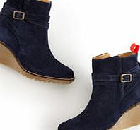 Boden Casual Wedge Boot, Blue 34214544
