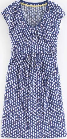 Boden, 1669[^]35247923 Casual Weekend Dress Lapis Kaleidoscope Boden,