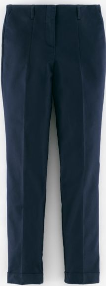 Boden, 1669[^]33974155 Chelsea Turn-Up Trousers Blue Boden, Blue 33974155
