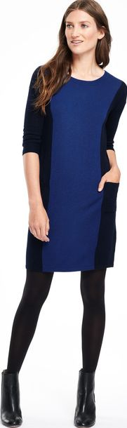 Boden, 1669[^]35215201 Colourblock Tunic Party Dress Navy/Lapis Boden,