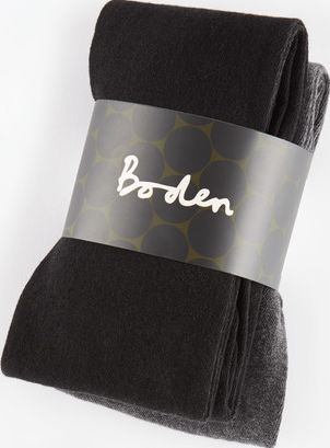 Boden, 1669[^]35120781 Cotton Blend Tights Black/Grey Boden, Black/Grey