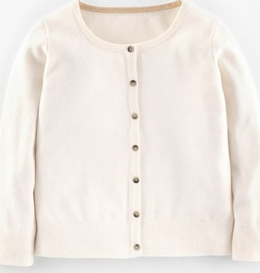 Boden, 1669[^]34697623 Cropped Cashmere Cardigan Ivory Boden, Ivory