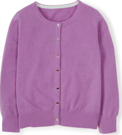 Boden, 1669[^]34697805 Cropped Cashmere Cardigan Purple Boden, Purple
