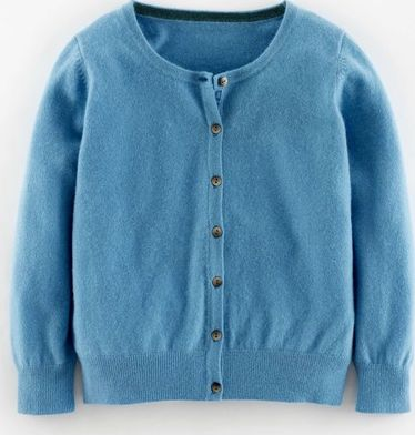 Boden, 1669[^]35113794 Cropped Cashmere Cardigan Steel Blue Boden,