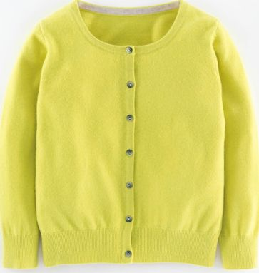 Boden, 1669[^]35113091 Cropped Cashmere Cardigan Yellow Boden, Yellow