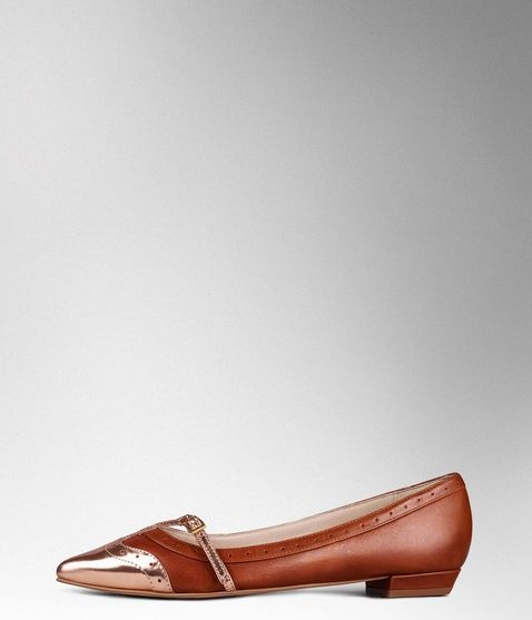 Boden, 1669[^]35051572 Darcie Point Pumps Tan/Rose Gold Mirror Metallic