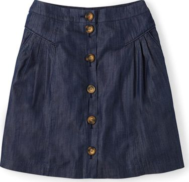 Boden, 1669[^]34824771 Denim Button Skirt Denim Boden, Denim 34824771