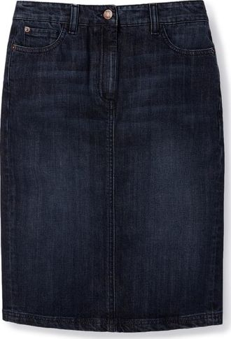 Boden, 1669[^]34508887 Denim Pocket Pencil Blue Boden, Blue 34508887