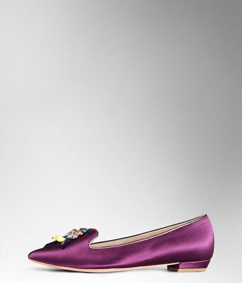 Boden, 1669[^]35059336 Embellished Slipper Elderberry Satin Boden,