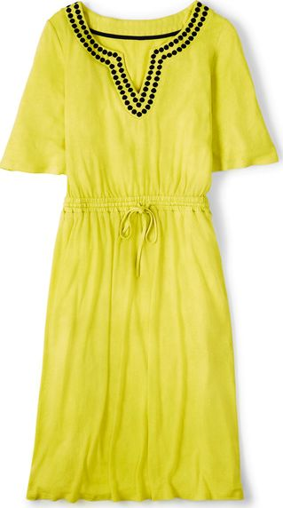 Boden, 1669[^]34781005 Estelle Dress Sherbet Lemon Boden, Sherbet Lemon