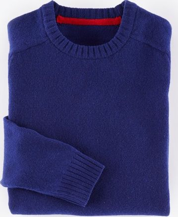 Boden, 1669[^]34915223 Everyday Crew Neck Jumper Energy Blue Boden,