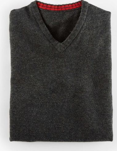 Boden, 1669[^]34922005 Everyday V-Neck Jumper Grey Boden, Grey 34922005
