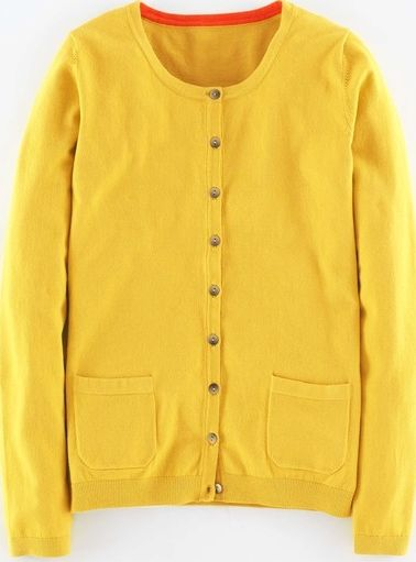 Boden, 1669[^]35112622 Favourite Cardigan Canary Boden, Canary 35112622