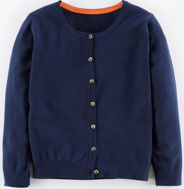 Boden, 1669[^]34702118 Favourite Cropped Cardigan Blue Boden, Blue