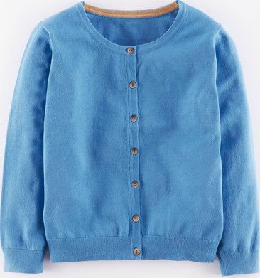 Boden, 1669[^]35112184 Favourite Cropped Cardigan Steel Blue Boden,