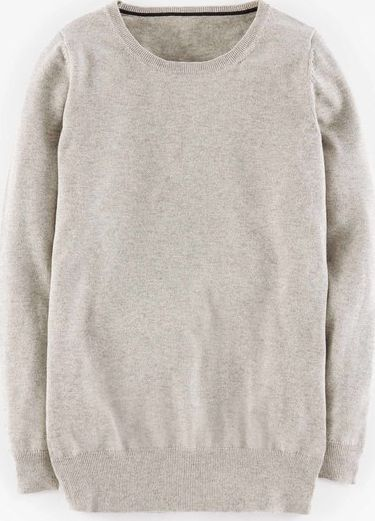 Boden, 1669[^]35060912 Favourite Relaxed Crew Neck Grey Melange Sparkle