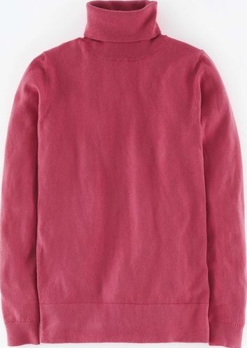 Boden, 1669[^]35203785 Favourite Roll Neck Jumper Rose Blossom Boden,
