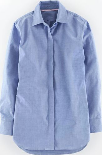 Boden, 1669[^]35535533 Girl Fit Shirt Blue Boden, Blue 35535533