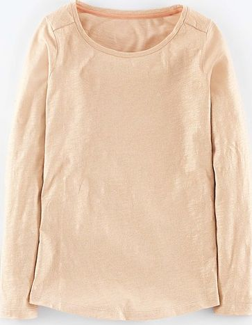 Boden, 1669[^]35016492 Glitter Long Sleeve Top Old Pink Boden, Old Pink