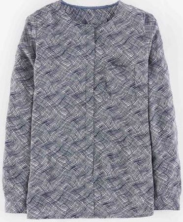 Boden, 1669[^]35274109 Gwyneth Top Blues Squiggle Boden, Blues Squiggle