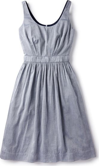 Boden, 1669[^]35157296 Hattie Dress Blue Boden, Blue 35157296