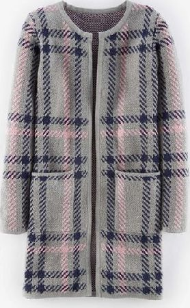 Boden, 1669[^]35053867 Heritage Check Coatigan Grey Oversized Check