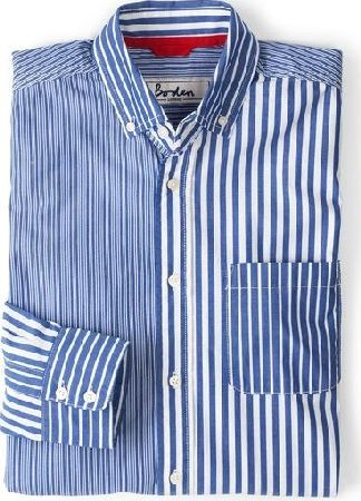 Boden, 1669[^]34493015 Hotchpotch Shirt Reef/Ecru Stripes Boden,