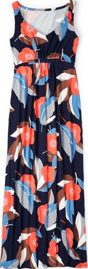 Boden, 1669[^]34621748 Jersey Maxi Dress Navy Resort Floral Boden, Navy