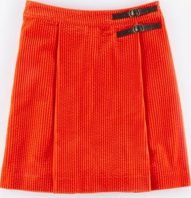 Boden, 1669[^]35103126 Jumbo Cord Kilt Orange Red Boden, Orange Red