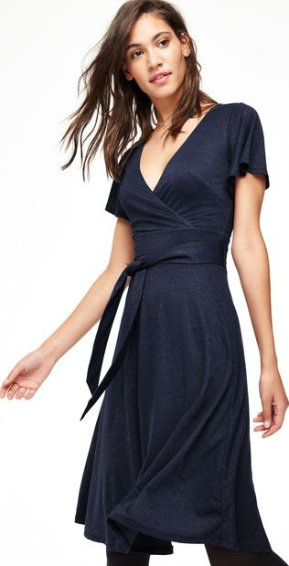 Boden, 1669[^]35144757 Lara Sparkle Party Dress Blue Boden, Blue 35144757