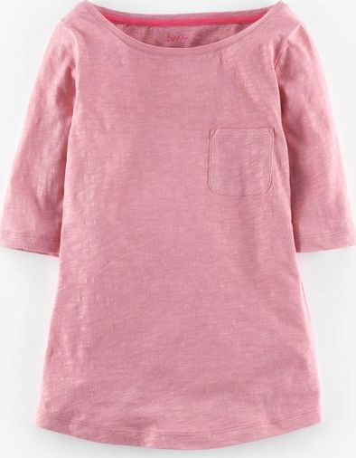 Boden, 1669[^]35002138 Lightweight Boatneck Old Rose Boden, Old Rose
