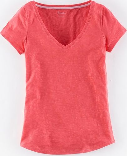 Boden, 1669[^]35002435 Lightweight V-neck Red Boden, Red 35002435