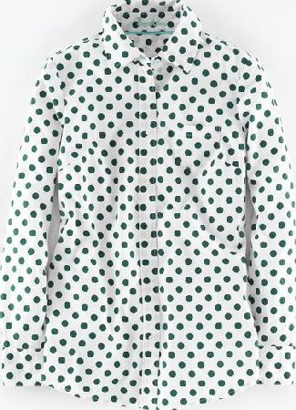 Boden, 1669[^]35236496 Long Line Shirt Amazon Green Spot Boden, Amazon