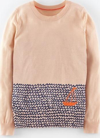 Boden, 1669[^]35061530 Low Tide Jumper Old Pink Sail Boat Boden, Old