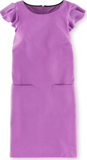 Boden, 1669[^]34973933 Mavis Ponte Dress Purple Boden, Purple 34973933