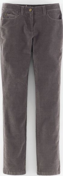 Boden, 1669[^]35095942 Mid Rise Straight Leg Jeans Pewter Cord Boden,