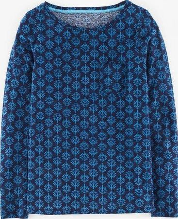Boden, 1669[^]35164672 Olive Top Navy Tree Print Boden, Navy Tree Print