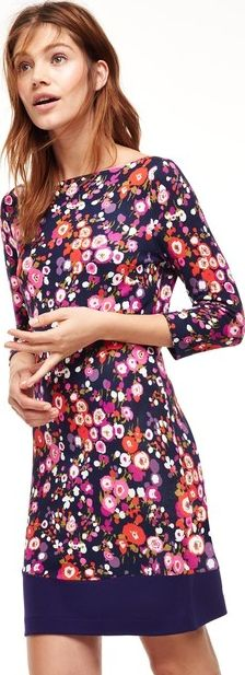 Boden, 1669[^]35168236 Olivia Party Dress Pinks Bouquet Boden, Pinks