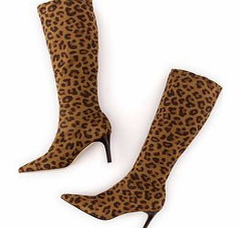Boden Pointed Stretch Boot, Tan Leopard 34218891