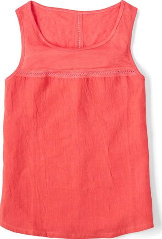 Boden, 1669[^]34659920 Pretty Linen Vest Soft Red Boden, Soft Red