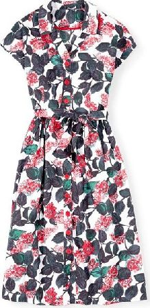 Boden, 1669[^]34667477 Seatown Shirt Dress Red Vintage Floral Boden,
