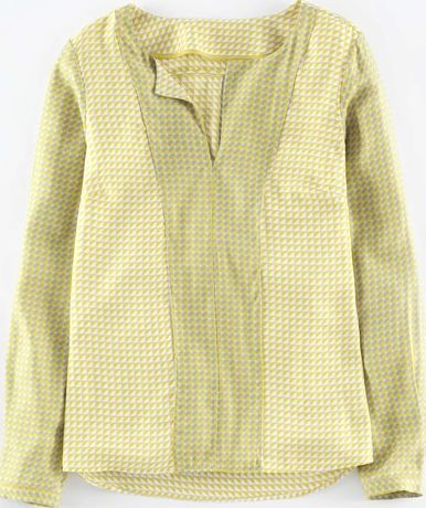 Boden, 1669[^]35044825 Silky Panel Top Chartreuse Small Tile Boden,