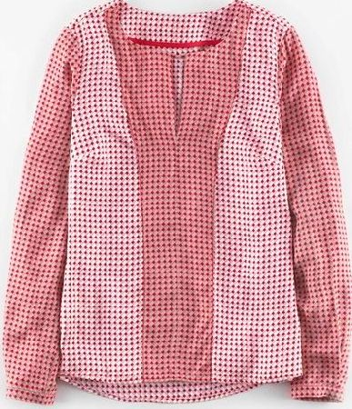 Boden, 1669[^]35044924 Silky Panel Top Reds Small Tile Boden, Reds
