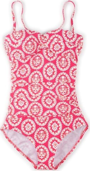 Boden, 1669[^]34563817 Sorrento Swimsuit Tutti Frutti Woodblock Boden,