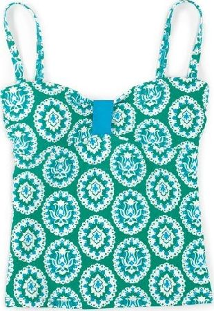 Boden, 1669[^]34567073 St Lucia Tankini Top Green Boden, Green 34567073